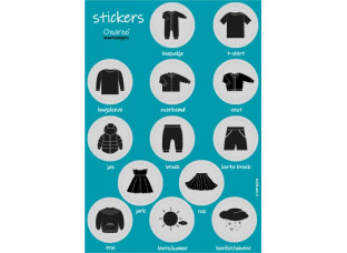 Onaroo Stickervel Pictogram BALOE